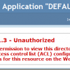 "Fixing the ""HTTP Error 401.3 – Unauthorized"" Issue in IIS"